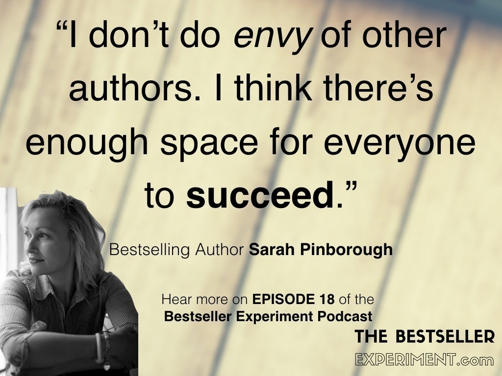 EP18: Behind Sarah Pinborough's Eyes! - The Bestseller Experiment