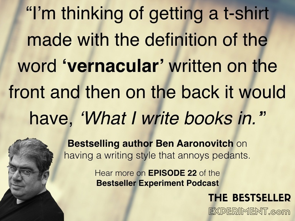 EP22: Ben Aaronovitch and the Great Bollocking… - The